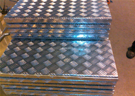 3003 H14 Five Bars Corrugated Aluminum Sheet 1220 * 2440mm Corrugated Aluminum Panels