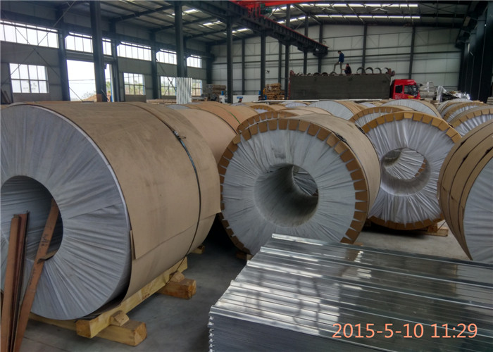 Mill Finish Pure 1100 Aluminum Sheet / Coil Unpolished H14 Temper ISO 9001 Approval