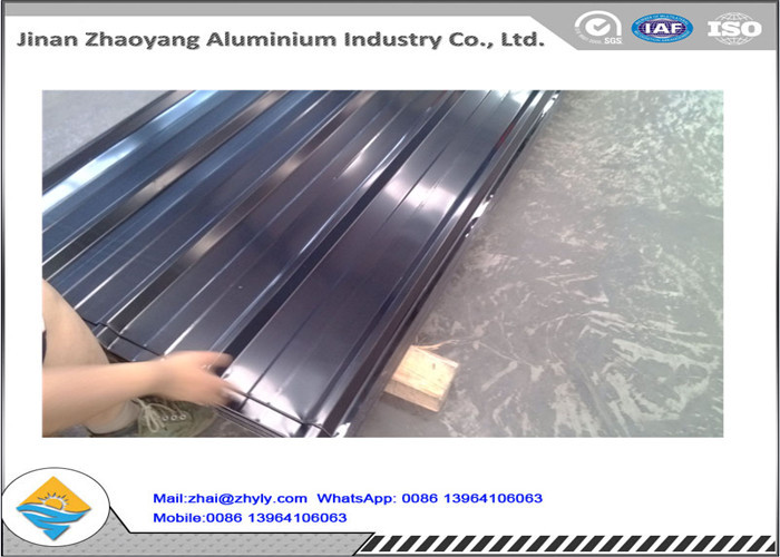 Hot Selling 3003 Aluminum Magnesium Corrugated Aluminum Ridge Tile / Metal Roofing Sheet
